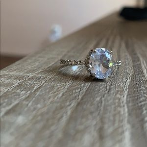 Engagement ring size 8